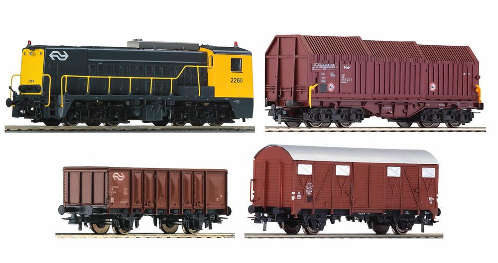 Roco 51141 - Analog Starter Set Diesel Locomotive w ...