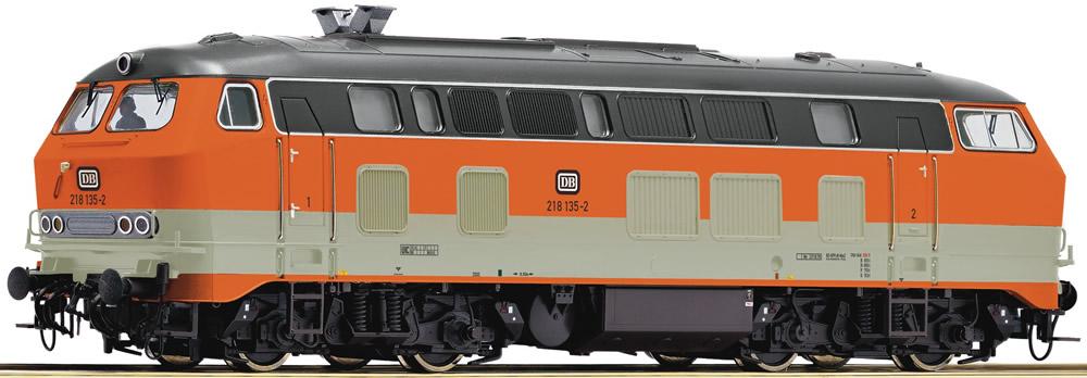 Roco 72762 German Diesel Locomotive Br 218 135 2 Of The