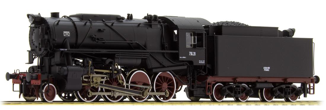 Roco 78159 Italian Steam Locomotive Gruppo 736 Of The Fs