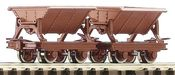 2pc Side Tipping Wagon Set