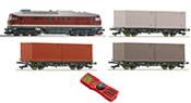 Digital Starter Set: Diesel Locomotive Series 220 & Freight Train of the DR