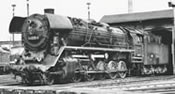 German Steam Locomotive BR 44 of the DR