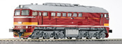 Diesel locomotive T679 of the CSD