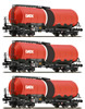 3pc Tank Car Set GATX