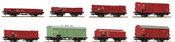 8pc Freight Car Ser