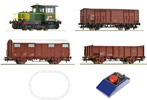 Italian Analog Starter Set with Diesel Locomotive D.214 and Freight Train of the FS