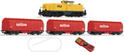 Dutch Digital starter set Diesel locomotive series 6494 of the Dutch NS Railion with a steel cable