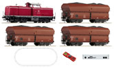 German Digital Starter Set z21 with Class 212 Diesel Locomotive and Coal Train of the DB