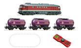 German Digital Starter Set: Diesel Locomotive BR 132 & freigth train of the DR