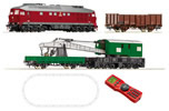 Czechoslovakian Digital Starter Set: T 679 & crane train of the CSD