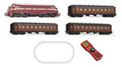 Norwegian Digital Starter Set: Diesel Locomotive Di3b &  passenger train of the NSB