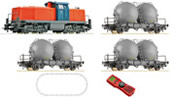 Swedish Digital Starter Set: Diesel Locomotive T94 & freight train of the SJ
