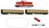 German Digital Starter Set z21 with Class 112 Diesel Locomotive and Passenger Train of the DR