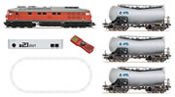 German Digital Starter Set with Diesel Locomotive BR 232 and Tank Car Train of the DB-AG