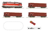 Austrian Digital Starter Set z21 with Series 2043 Diesel Locomotive and Goods Train of the OBB