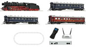 Mega Roco Line Digital Starter with BR 01, Passenger Cars & Two Digital Systems