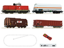Digital Starter Set z21: Diesel Locomotive Class 2048 and goods train of the ÖBB