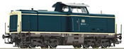 German Diesel Locomotive Class 212 of the DB (DCC Sound Decoder)