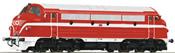Hungarian Diesel Locomotive M 61.001 of the MAV (DCC Sound Decoder)