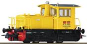 Italian Diesel Locomotive D.214 of the FS