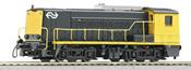 Dutch Diesel Locomotive Series 2200 of the NS