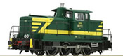 Belgium Diesel Locomotive Reeks 80 of the SNCB