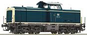 German Diesel Locomotive Class 212 of the DB (Sound Decoder)