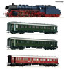 German Steam locomotive class 03.10 and fast train Set of the DB