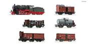 "6 piece set: German ""Prussian goods train"" of the KPEV (Sound)"