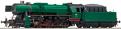 Steam locomotive series 26, SNCB w/sound