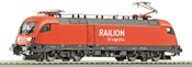 Electric Locomotive BR 182 RAILION-LOG.