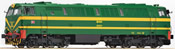 Diesel locomotive D 333, green