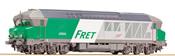 Diesel locomotive CC 72000, FRET