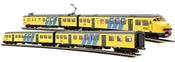 Electric multi-unit rail coach Plan T, NS w/sound