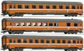 Set: passenger cars Transalpin Eurofima #1