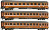 Set: passenger cars Transalpin Eurofima #2