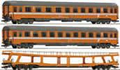 Set: passenger cars Transalpin Eurofima #3
