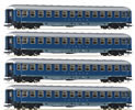 German 4pc passenger car set: couchettes Touropa