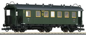 German 3rd Class Passenger Coach of the DRG