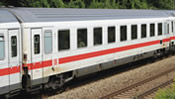 German 1st Class Express Train Passenger Car of the DB AG