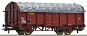 Sliding tarpaulin wagon, SNCF