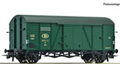 Covered goods wagon