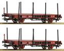 2 piece set: Stake wagons, ÖBB