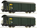2pc Postal Wagon Set, SBB