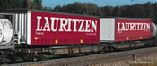Articulated Double Pocket Wagon, AAE - LAURITZEN