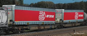 Articulated Double Pocket Wagon, AAE - arcese