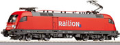 German Electric Locomotive BR 182 RAILION