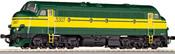 SNCB Six Axle NOHAB Diesel Locomotive Class 53
