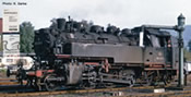 German Steam locomotive 086 400-9 of the DB