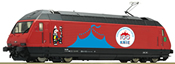 Swiss Electric Locomotive 460 058-1 Circus Knie of the SBB (DCC Sound Decoder)